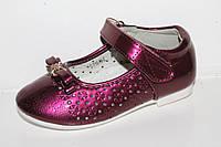 Детская обувь оптом. Туфельки для девочек от Tom.m 1019E (12/6пар 26-31)