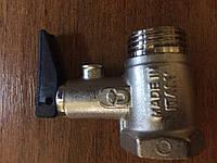 ITAP 367 Предохранительный клапан 1/2' для бойлеров с ручкой спуска