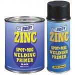 BODY Грунт антикоррозийный черный аэрозоль ZINC SPOT MIG 425, 400 ml