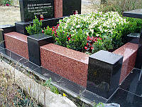 Мемориальные ограды из гранита