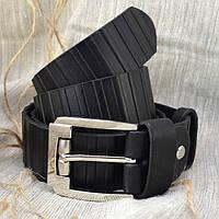 Мужской кожаный ремень R2-01 (черный)
