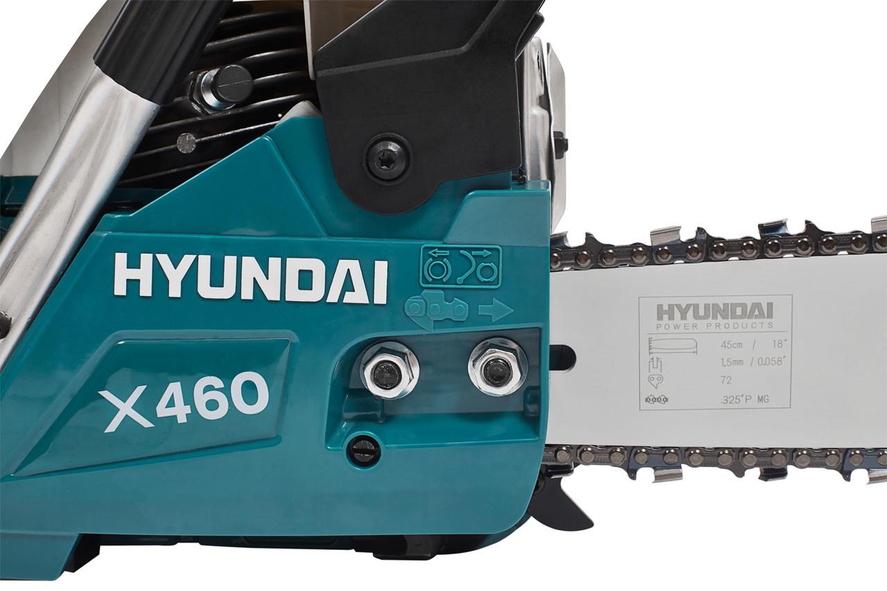Бензопила цепная Hyundai X 460 9
