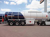 Nursan Trailer Полуприцеп-цистерна для химических продуктов