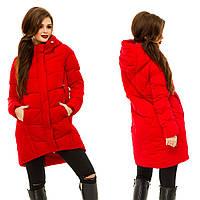 Куртка зимняядлинная, размер  S, M, L, XL, 2XL код 757А