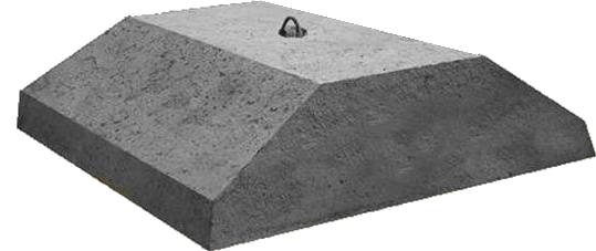 Плиты ленточных фундаментов ФЛ 32.12-2  1180х3200х500мм, фото 2