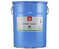 Лак полиуретановый TIKKURILA MERIT JAHTI 80 для древесины, 20л