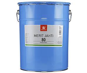 Лак поліуретановий TIKKURILA MERIT JAHTI 80 для деревини, 20л