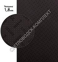 КОБИ, COBBY (Китай) original, р. 400*600*1.8мм, цв. коричневый - резина подметочная/профилактика листовая