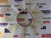 Крыльчатка вентилятора MB Sprinter 2.9TDI (9 лопастей/ 3 отверстия) пр-во AUTOTECHTEILE 2062