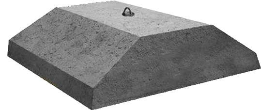 Плиты ленточных фундаментов ФЛ 8-12-2  1180х800х300мм, фото 2