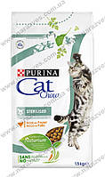 Сухой корм Purina Cat Chow Sterilised 1,5кг