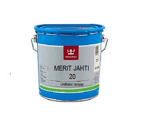 Лак поліуретановий TIKKURILA MERIT JAHTI 20 для деревини, 3л