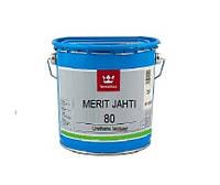 Лак полиуретановый TIKKURILA MERIT JAHTI 80 для древесины, 3л