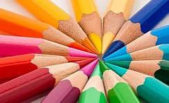 Карандаши цветные и чернографитные