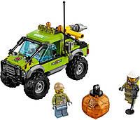 LEGO 60121 City  Вантажівка Дослідникі (Lego Сити Разведывательный грузовик Lego City60121 Volcano Exploratio)