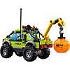 LEGO 60121 City  Вантажівка Дослідникі (Lego Сити Разведывательный грузовик Lego City60121 Volcano Exploratio), фото 3