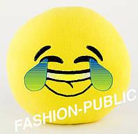 Подушка игрушка смайлик
