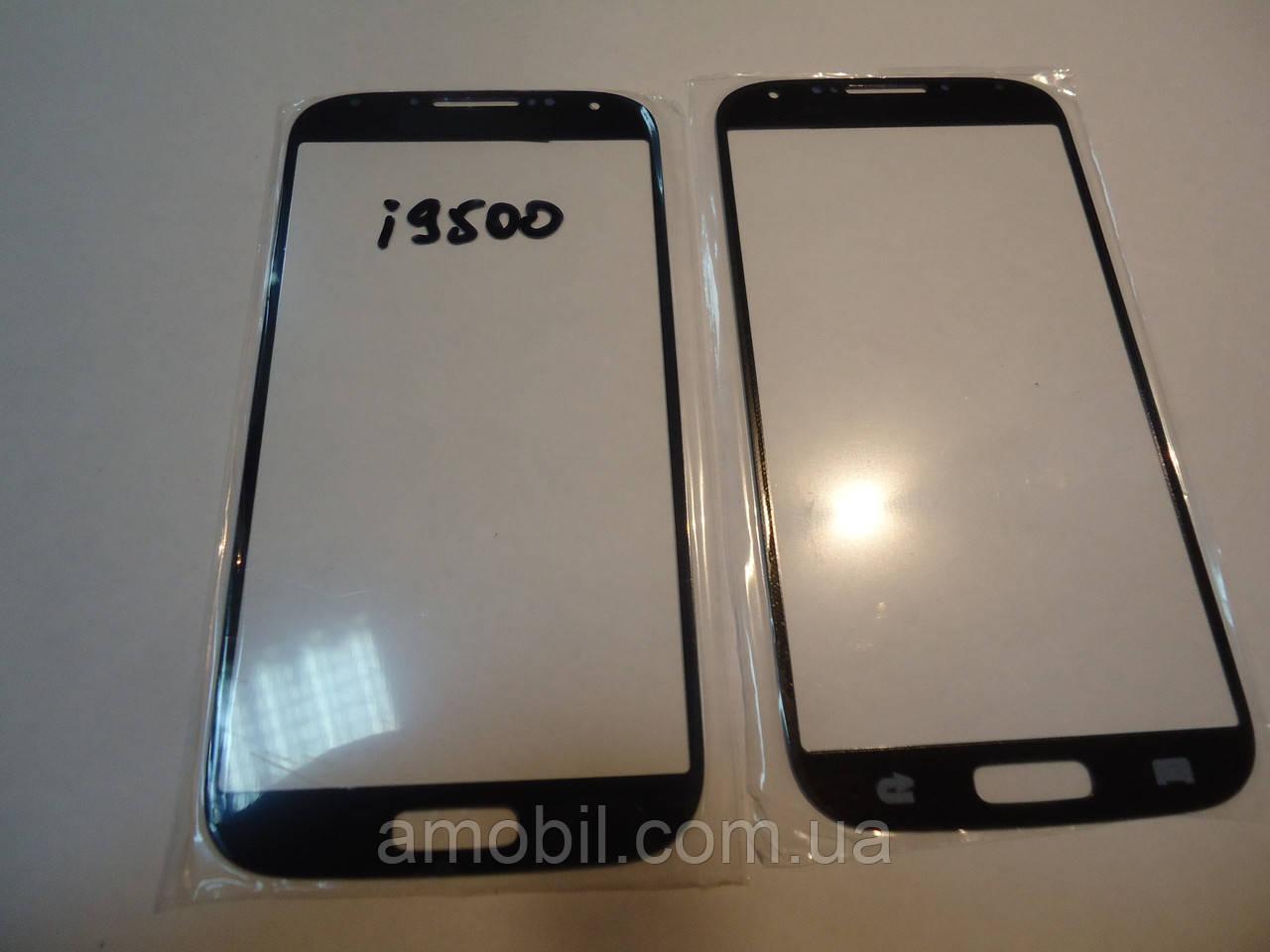 Стекло корпуса Samsung i9500 Galaxy S4 Black