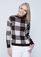 Осенний вязаный женский свитер