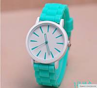 Силиконовые часы Geneva Женева , часы наручные женские модные