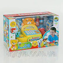 Кассовый аппарат детский игровой набор Касса детская Игрушка магазин детский игровой набор, фото 3