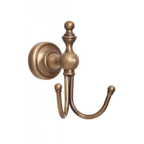 Крючок двойной для ванной Richmond , бронза