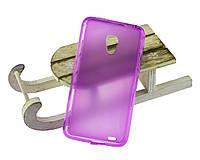 Силиконовый чехол для Meizu MX3 бампер фиолетовый