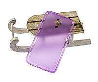 Силиконовый чехол для Meizu MX4 бампер фиолетовый