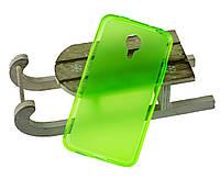 Силиконовый чехол для Meizu MX4 бампер зеленый