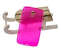 Силиконовый бампер для Meizu MX4 бампер розовый