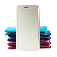 Чехол книжка для Meizu MX3 с магнитом белый