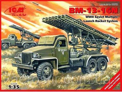 БМ-13-16Н'Катюша' 1/35 ICM 35512