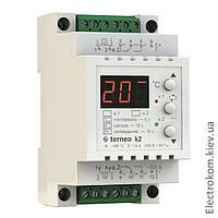 Терморегулятор двухканальный Terneo K2, -9...+99 С, 220-230 V AC