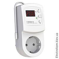 Терморегулятор в розетку Terneo rz, 0...+30 С, 220-230 V AC