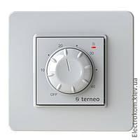 Терморегулятор для тёплого пола Terneo rtp, Белый, +10...+40 С, 220-230 V AC