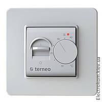 Терморегулятор для тёплого пола Terneo mex, Белый, +10...+40 С, 220-230 V AC