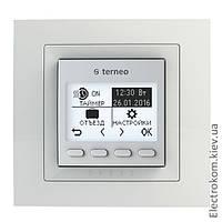 Терморегулятор для тёплого пола Terneo pro unic с недельным программатором, Белый, +5...+60 С, 220-230 V AC