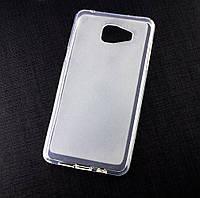 Силиконовый чехол для Samsung Galaxy A5 2016 (A510) бампер матовый / прозрачный