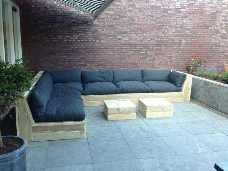 Виготовляємо садові м'які меблі. -1