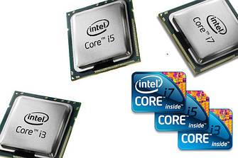 Intel Core i-3, i-5, i-7