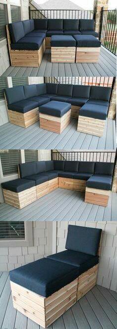 Виготовляємо садові м'які меблі. 2