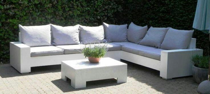 Виготовляємо садові м'які меблі. 3