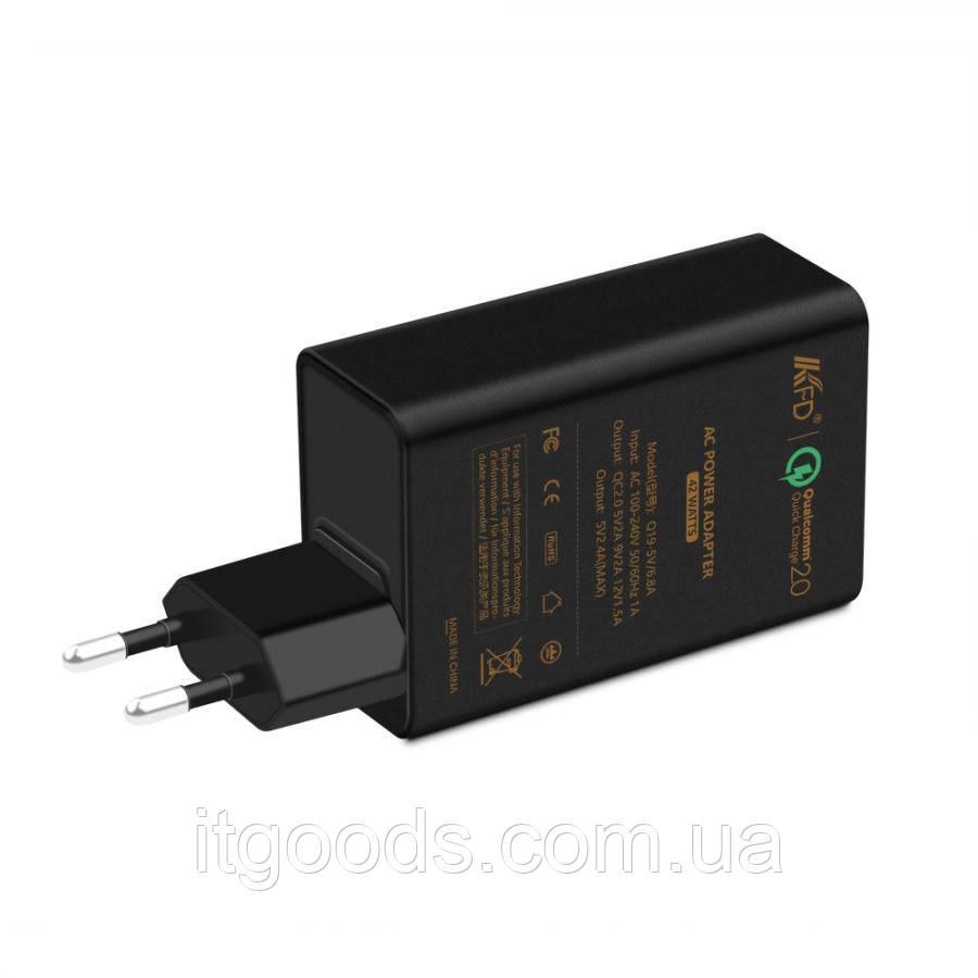 Зарядное устройство для планшета ACER 5-15V 6.8A (3 USB порта) 42W