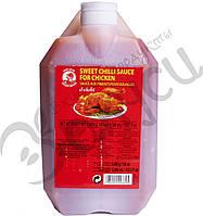 Остро-сладкий чили соус Cock Brand для курицы  4500 мл.
