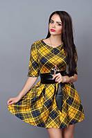 Стильное платье с карманами. Размеры 42,44,46,48