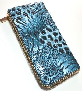 Стильный кошелек-клатч, dress 5020_голуб