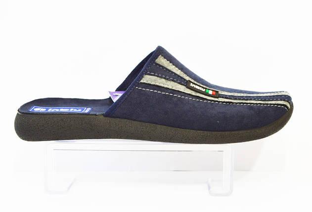 Мужские синие тапочки Inblu AC-E3, фото 2