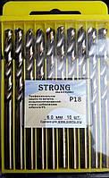 Сверло по металлу Р18 (HSS-Co5, Р6М5-К5) 6,0 мм