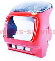 Обтекатель под квадратную фару (красный)