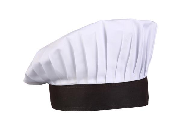 Поварской колпак белый